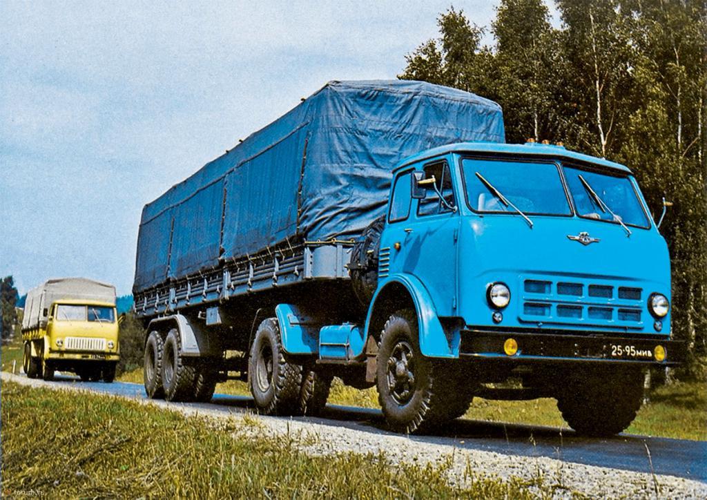 Характеристика МАЗ 516