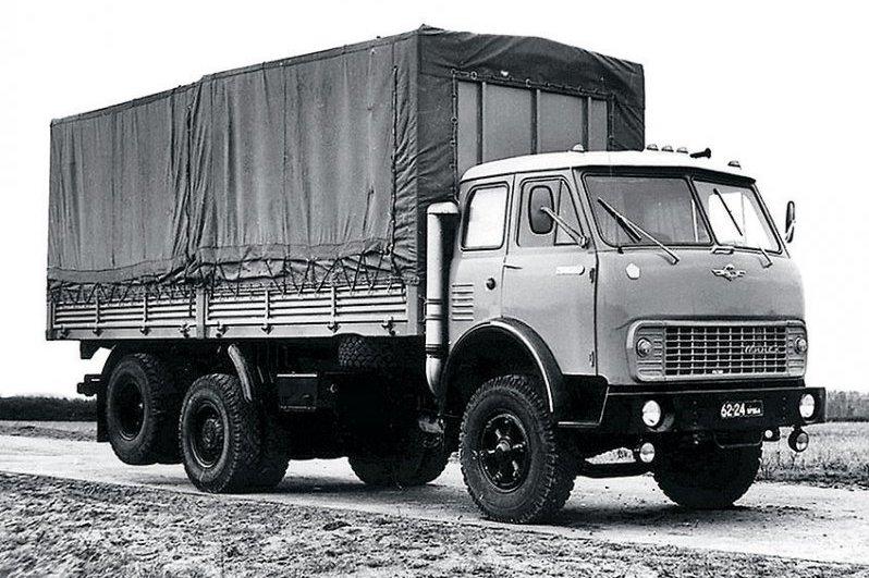 Бортовой грузовик МАЗ 516