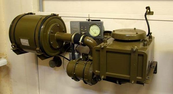Фильтрационная установка автомобиля ЗИЛ 131