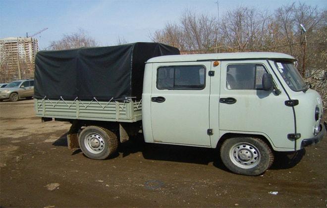Грузопассажирский УАЗ 390945