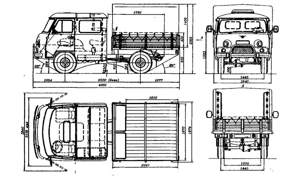 Схема УАЗ