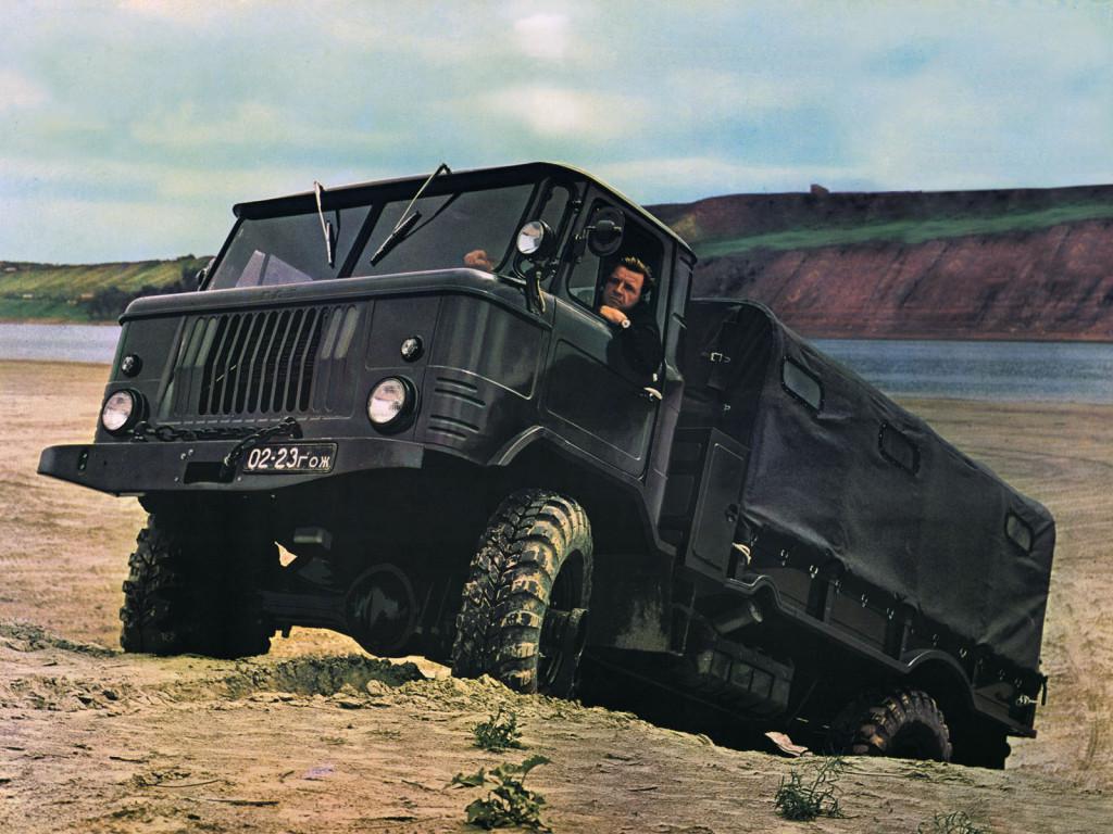 ГАЗ-66 с кунгом