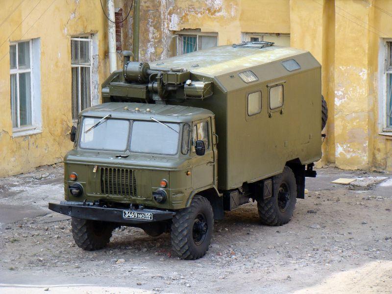 Грузовик ГАЗ-66 К