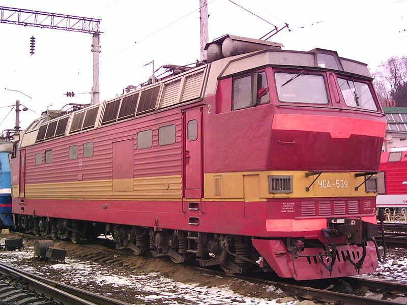 Электровоз ЧС-4т