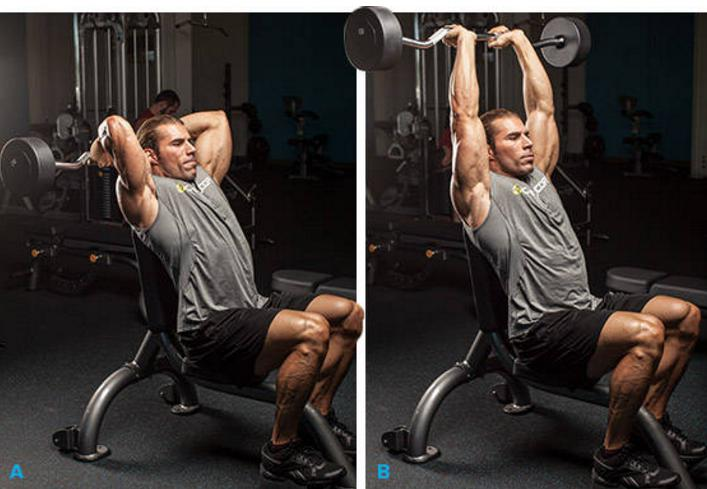 Barbell Triceps Exercises
