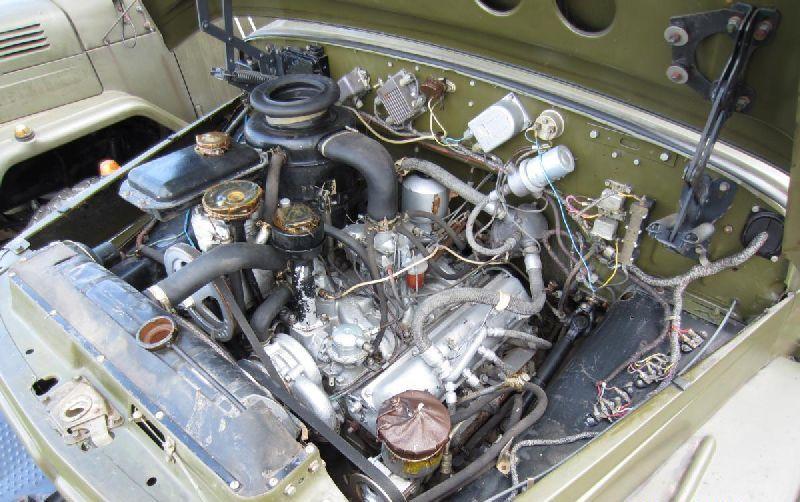 Двигатель ЗИЛ-130 с системой охлаждения