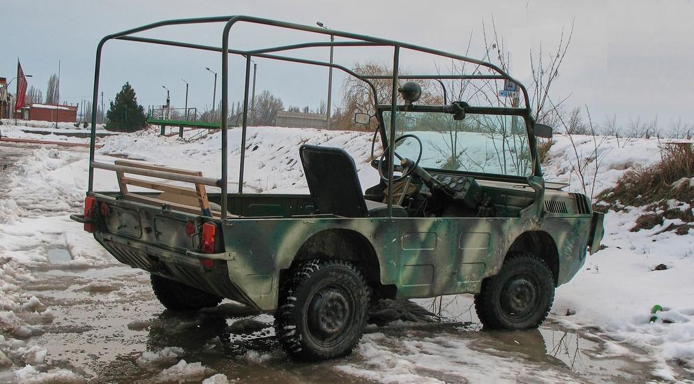 Военный внедорожник ЛуАЗ-967