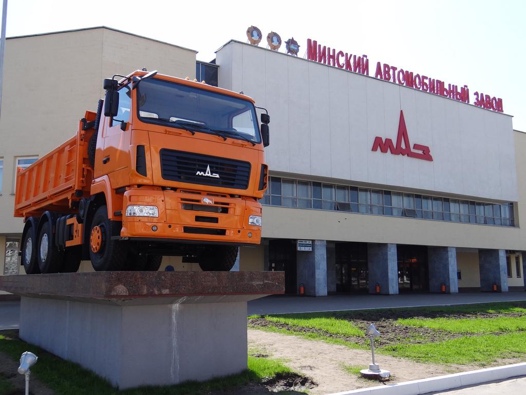 Производитель грузовиков МАЗ