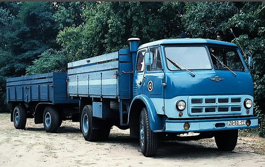 Грузовик МАЗ-500