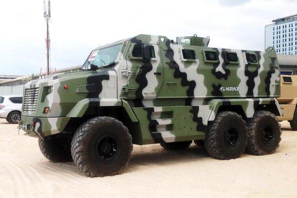 Автомобиль КрАЗ в военном исполнении