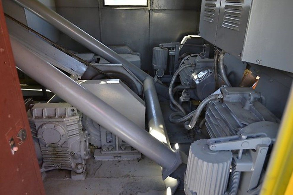 Механизм подъема крана ДЭК-251