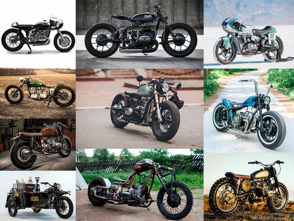 Кастомные мотоциклы на базе