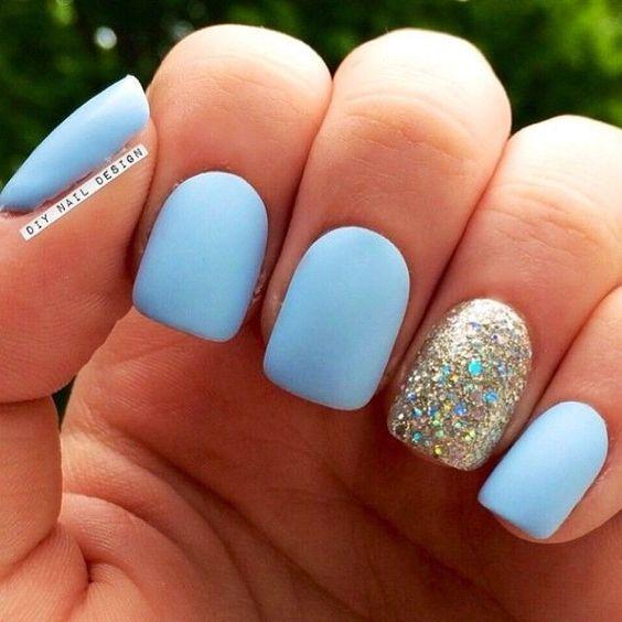 Матовое покрытие для ногтей: идеи, фото и отзывы