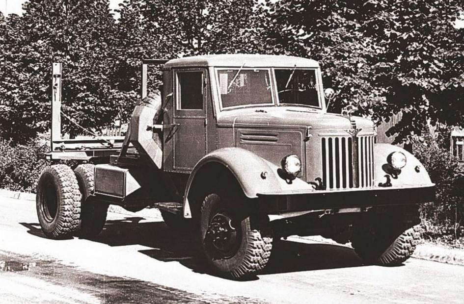 Авто МАЗ-501
