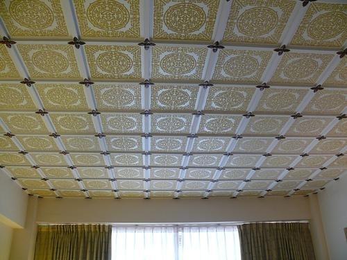 Adhesive ceilings
