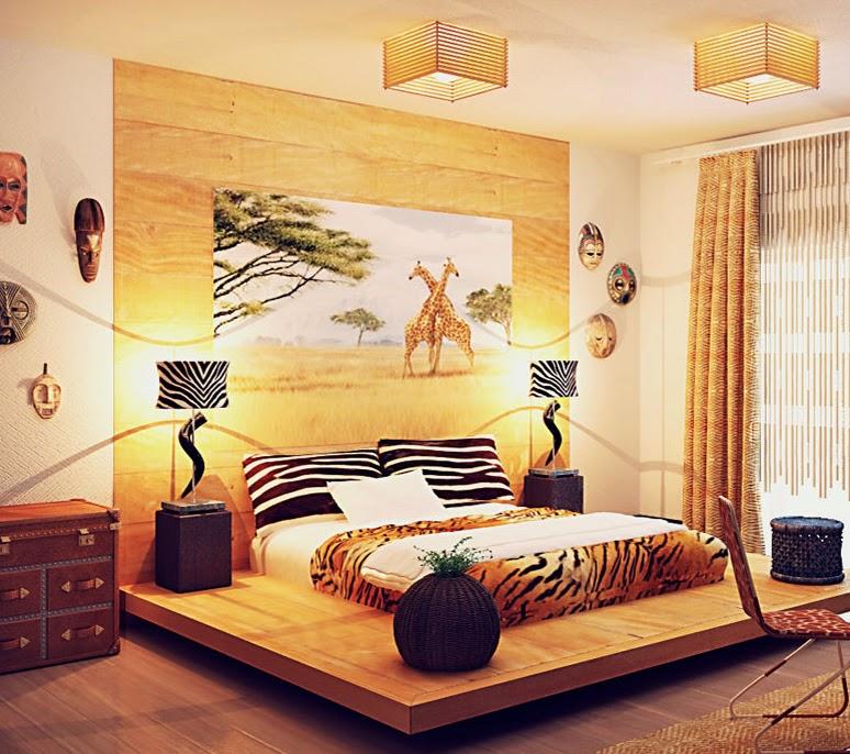 Дизайн интерьера фото в африканском стиле