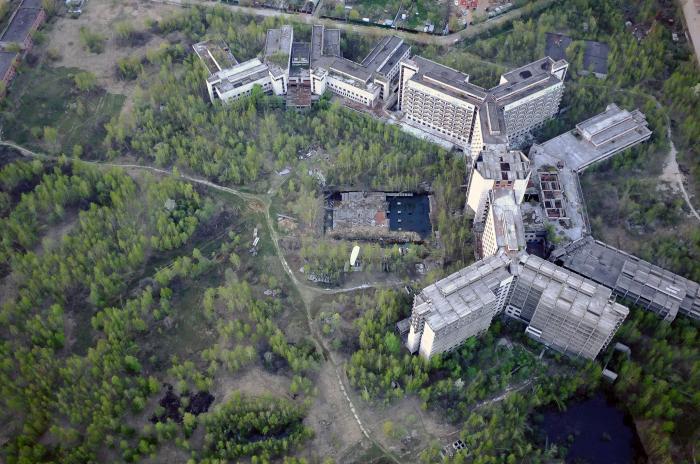 Abandoned Hospital in Zheleznodorozhny