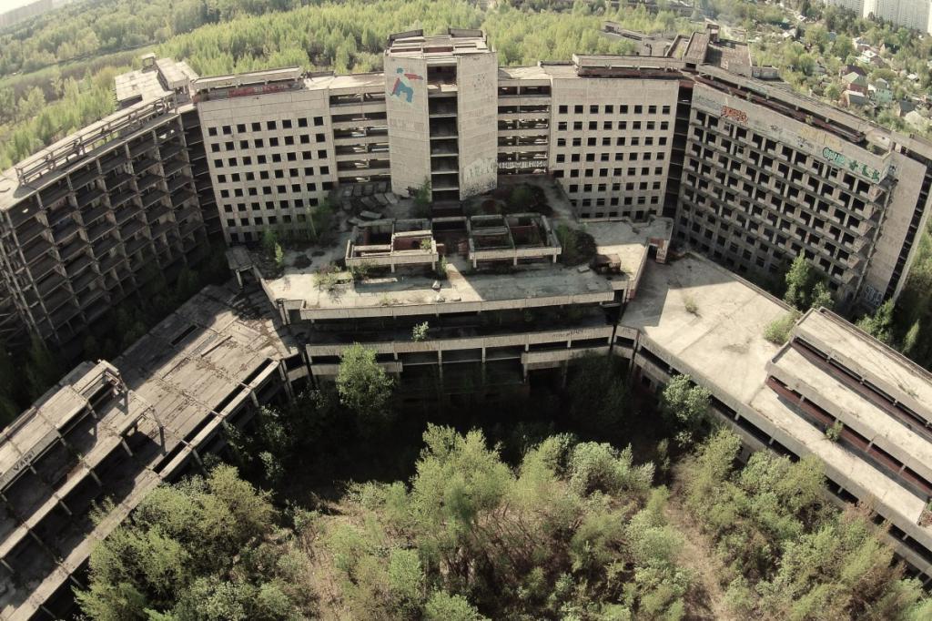 Unfinished KGB Hospital