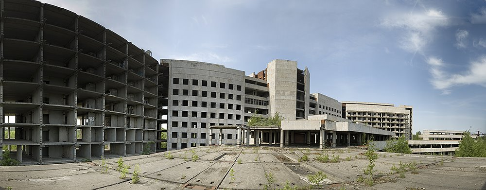Unfinished hospital of the KGB of the USSR