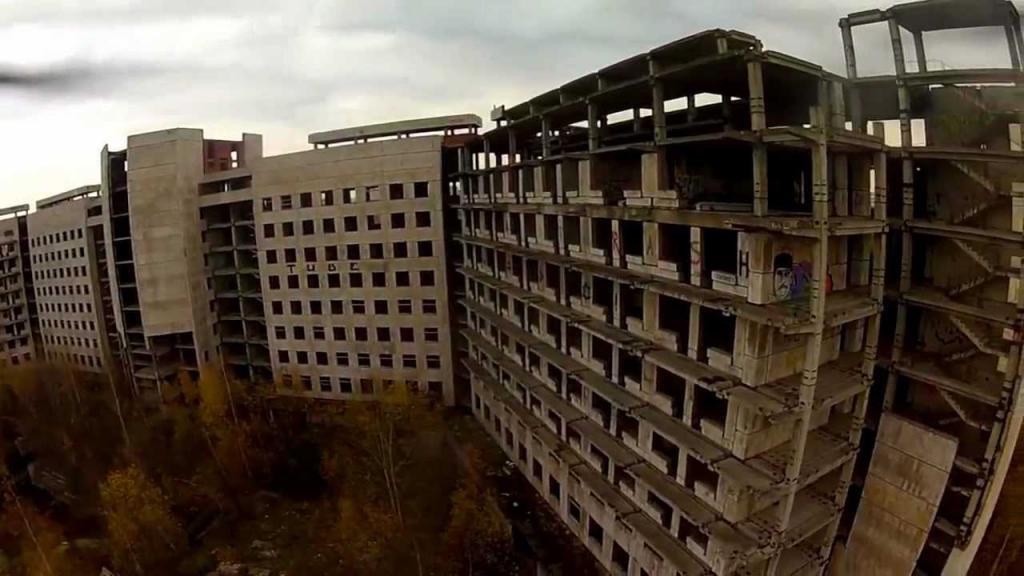 Unfinished KGB Hospital in Zheleznodorozhny