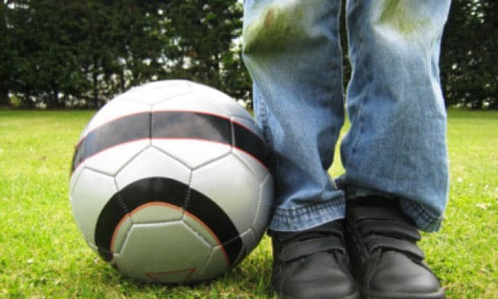 Grass stains: how to remove