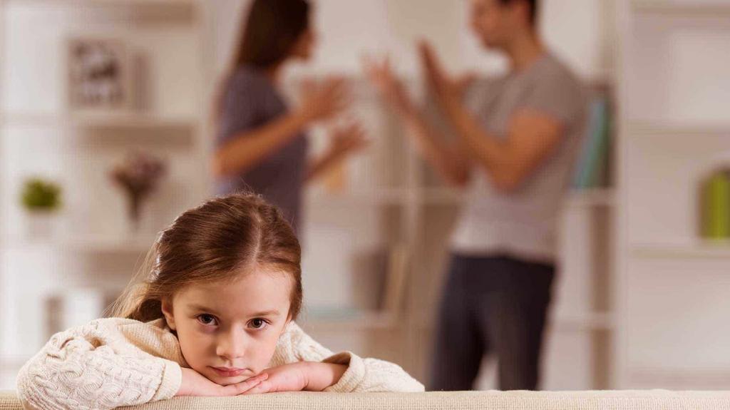 жена подала на развод есть ребенок