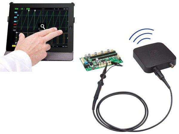 переделка планшета осциллограф