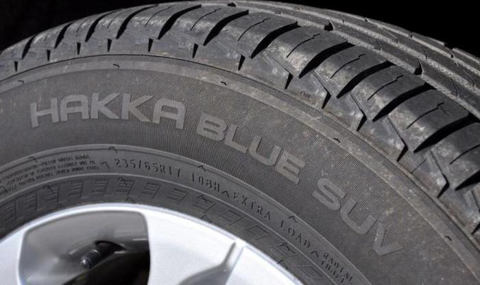 летние шины nokian hakka blue suv 225 60 r17 103v