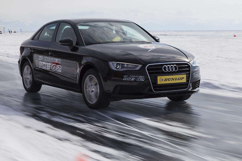 Тестирование Dunlop Winter Ice 02