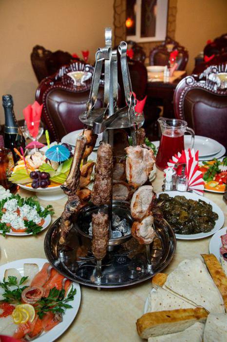 ресторан Баку меню