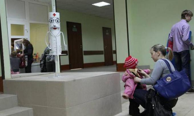 1 детская поликлиника Великий Новгород