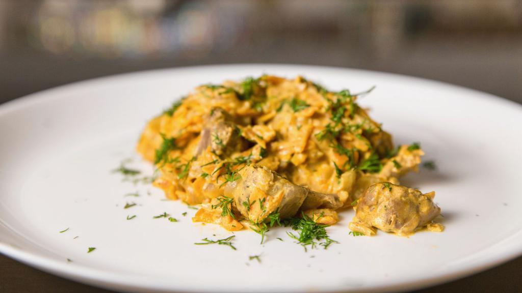 Фантазия на тему куриных желудков – кулинарный рецепт
