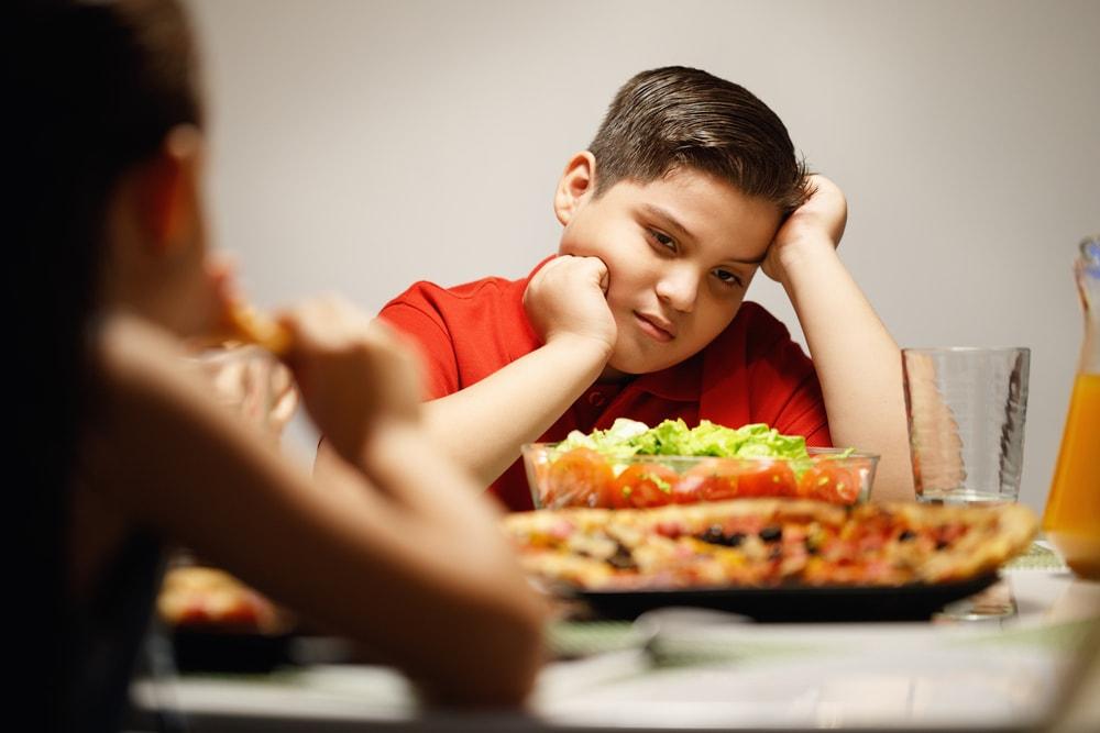 как похудеть ребенку
