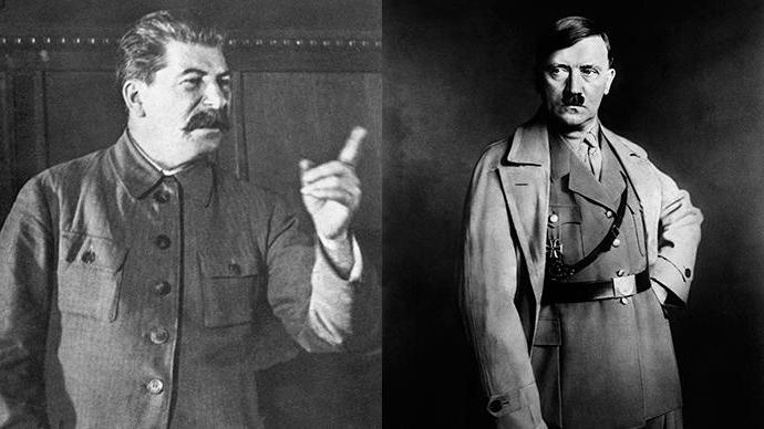 "a comparison of hitler and stalin How, finally, does mao's record compare to those of hitler or stalin snyder estimates that hitler was responsible for between 11 million and 12 million noncombatant deaths, while stalin was responsible for at least 6 million, and as many as 9 million if ""foreseeable"" deaths caused by deportation, starvation, and incarceration in."