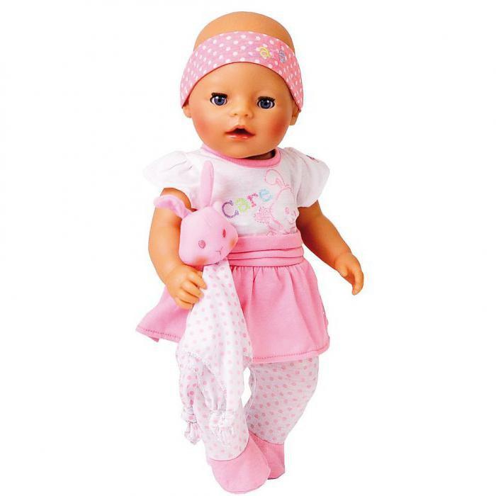 как сделать кашу для куклы беби бон