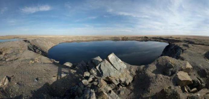 атомное озеро чаган казахстан