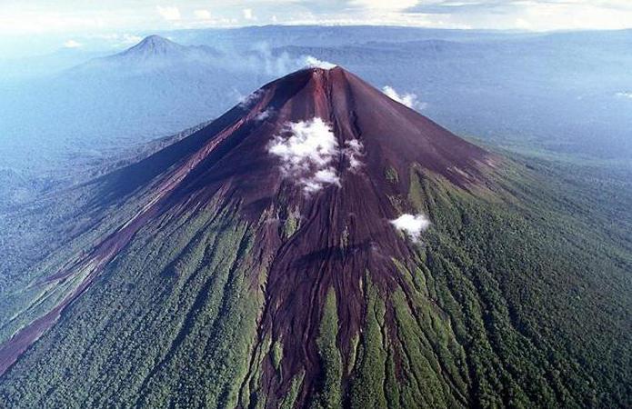 вулканический остров Канву