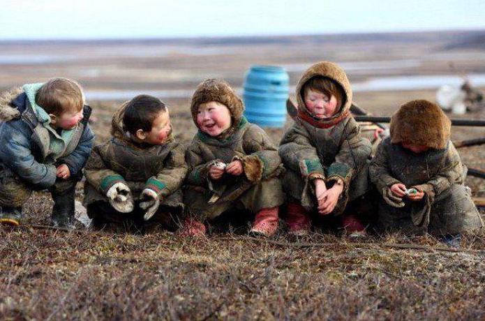 тазовский полуостров население
