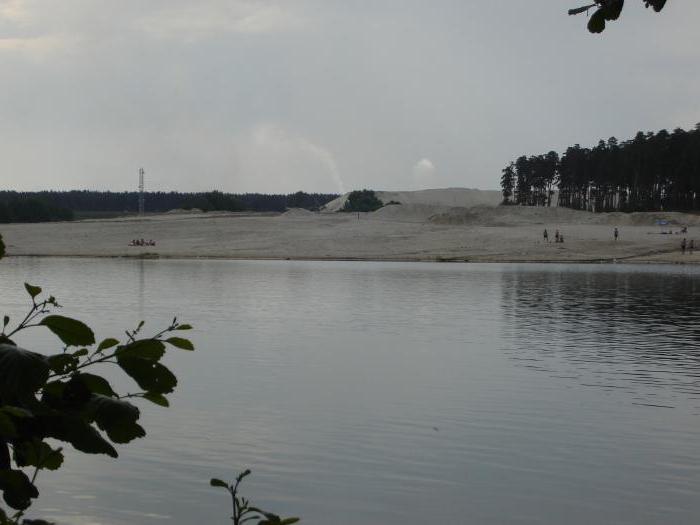 силикатное озеро