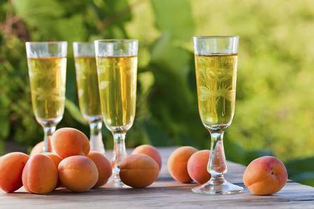 Вино из персиков