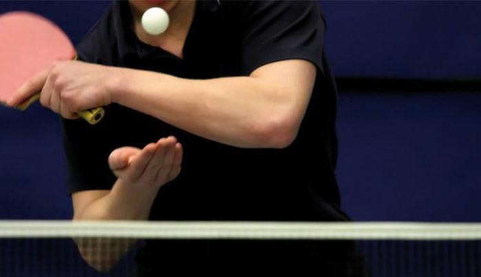 Подача в настольном теннисе - единственное, на что не может повлиять соперник