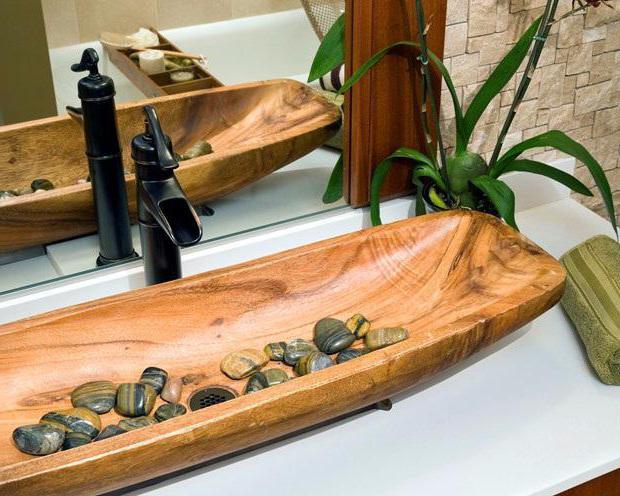 Деревянная раковина своими руками 168