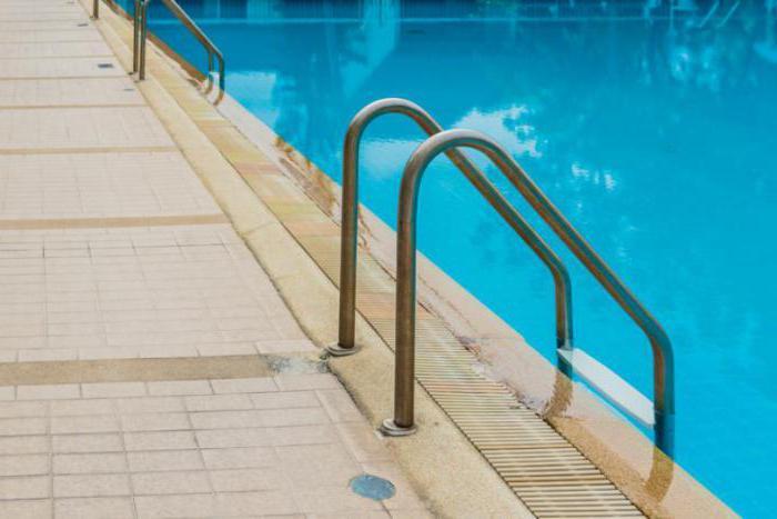 температура воды в спортивном бассейне норма