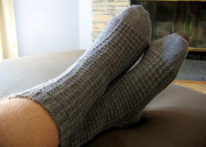 как рассчитать количество петель для носков