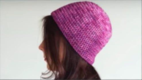 шапка теплая крючком