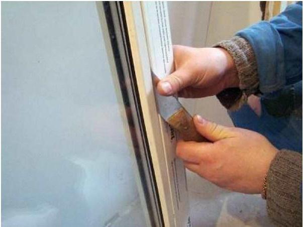 Как снять штапик с пластикового окна