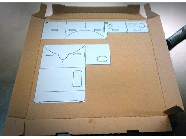 как сделать cardboard