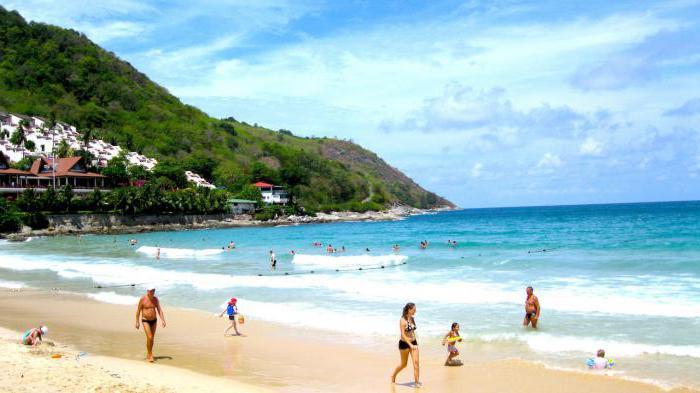 таиланд пхукет пляж най харн