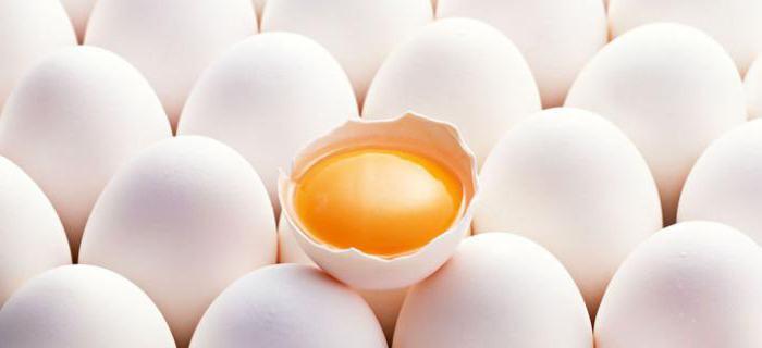 бжу яйца куриного вареного