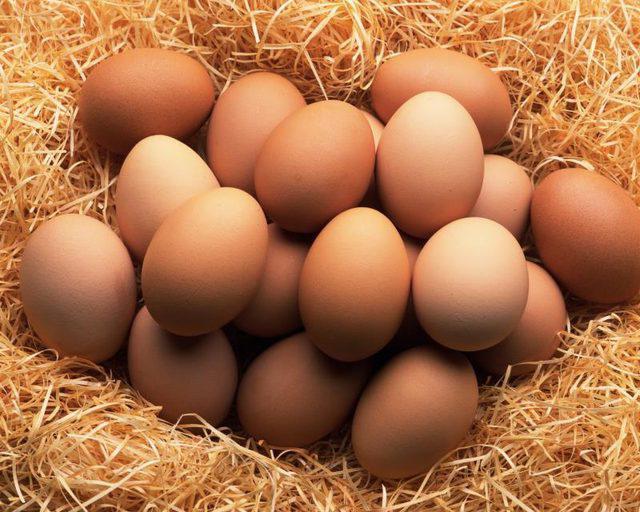 сколько бжу в курином яйце